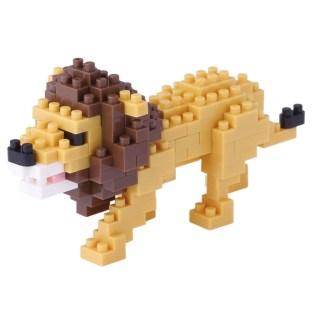 Nanoblock Mini Collection Lion (NBC-170)   LeVida Toys