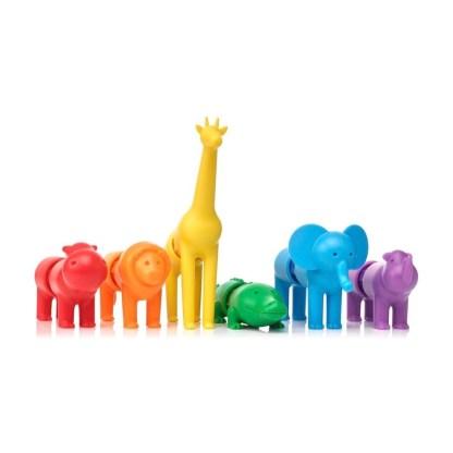 SmartMax My First Safari Animals Magnetic Play Set | LeVida Toys