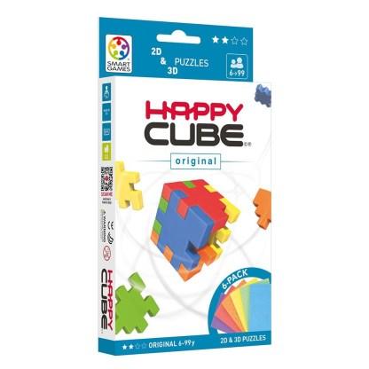 Smart Games Happy Cube Original 2D + 3D Puzzle   LeVida Toys