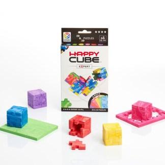 Smart Games Happy Cube Expert 2D + 3D Puzzle   LeVida Toys