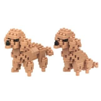 Nanoblock Toy Poodle (NBC-265) - nanoblock mini collection | LeVida Toys