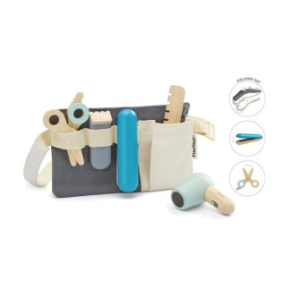 Plan Toys Hair Dresser Set - wooden role play toy | LeVida Toys