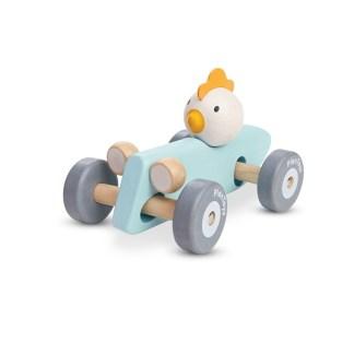 Plan Toys Chicken Racing Car (5716) | LeVida Toys