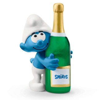 Schleich Smurf with Bottle (Model No. 20821) | LeVida Toys