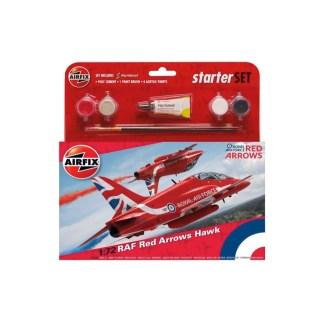 RAF Red Arrows Hawk - Airfix Starter Set | LeVida Toys