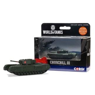 Corgi World of Tanks - Churchill Mk.III model | LeVida Toys