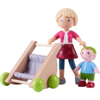 Haba Little Friends - Mama Melanie and Baby Kilian | LeVida Toys