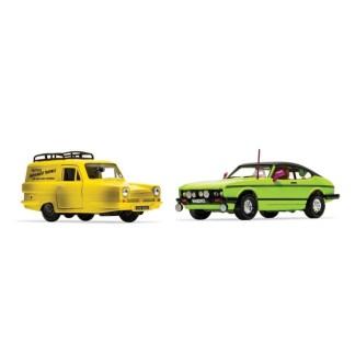 Corgi Del Boy's Reliant Regal and Ford Capri MkII | LeVida Toys
