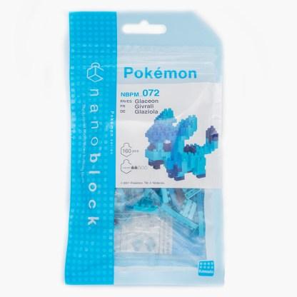 Glaceon - Nanoblock Pokemon (NBPM-072)   LeVida Toys