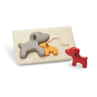 Plan Toys Dog Puzzle - Wooden Children's Puzzle | LeVida Toys