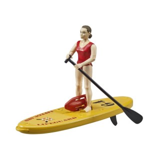 Bruder BWorld Lifeguard with Stand-Up Paddleboard - LeVida Toys