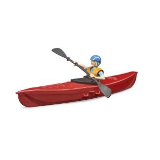 Bruder BWorld Kayak with Figure - LeVida Toys