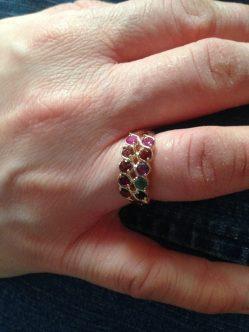 Carol's mother's ring