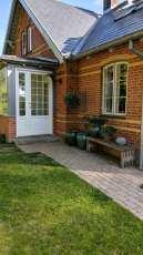 Huset vi bodde i under semester i Danmark, så fint.