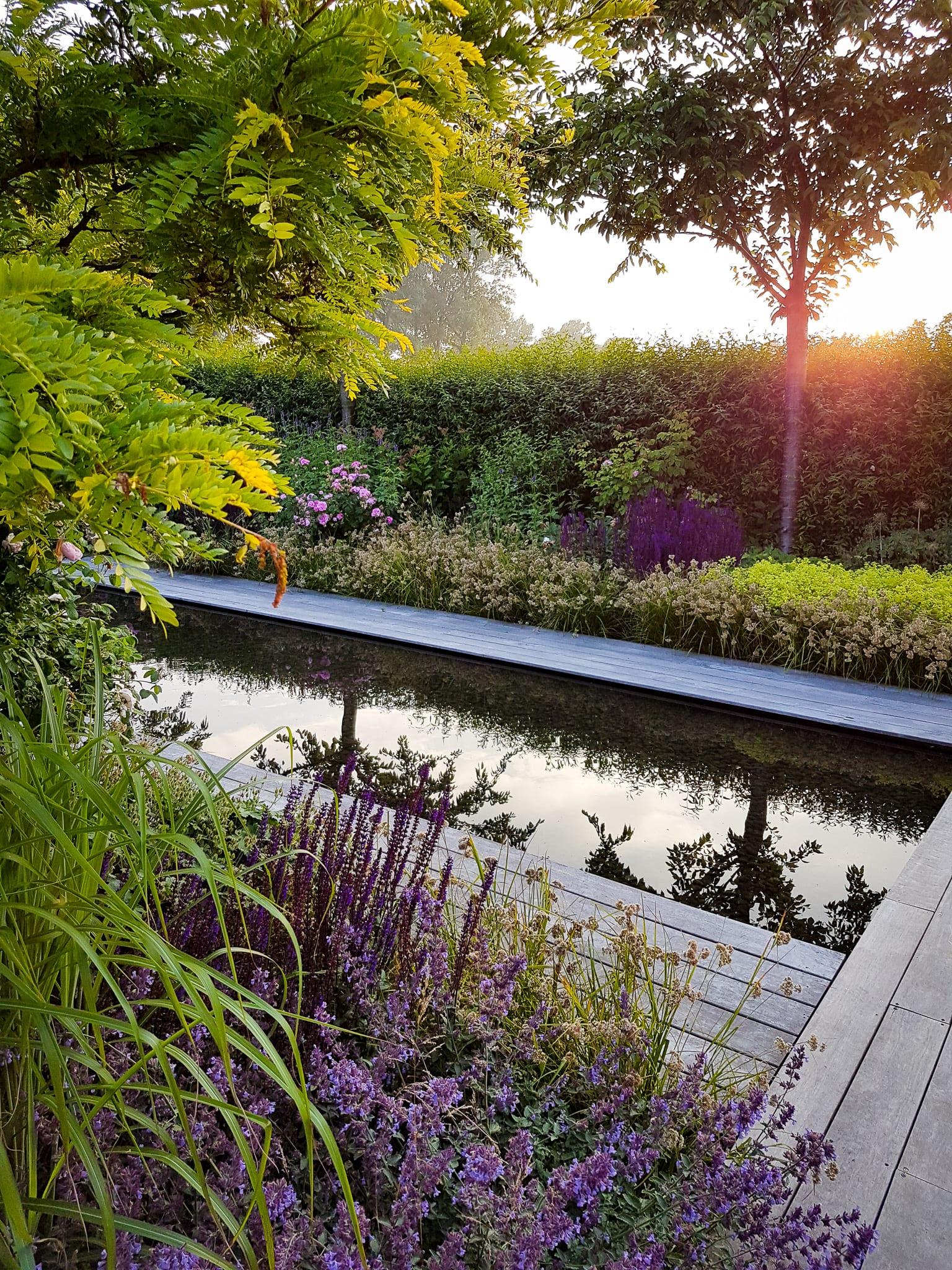 Portfolio av projekt designade av Ulrika Levin, Levins Trädgård & Design.