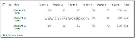 SharePoint 2010 List Improvements – Column Validation and List Validation Settings (1/6)