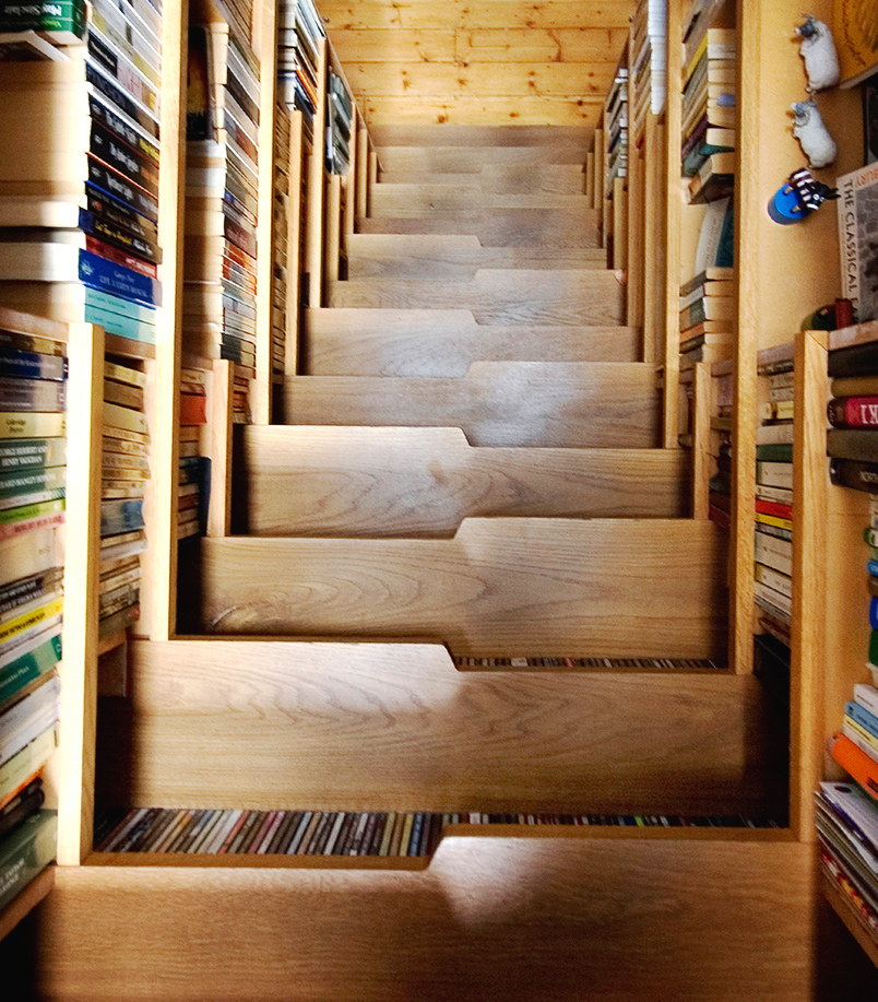 Bookcase Staircase  Levitate