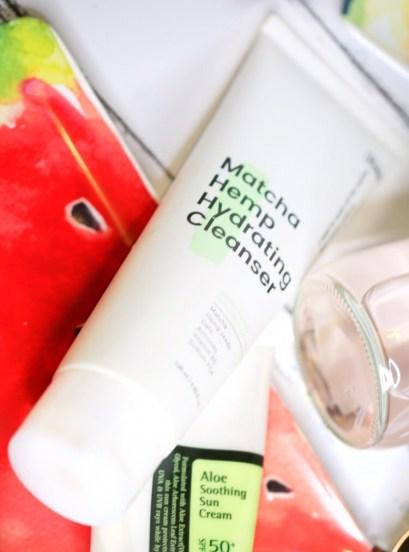 Krave Beauty Matcha Hemp Hydrating Cleanser Liah Yoo Levitate Beauty