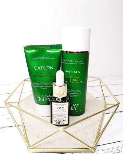 Sunday Riley Saturn Mask Sunday Riley UFO Oil Skincare Acne Prone Skin Levitate Beauty