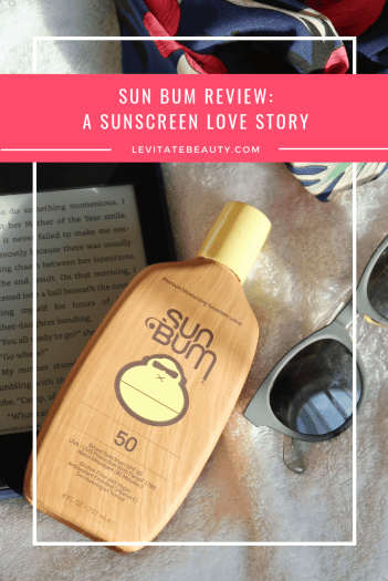 Sun Bum: A Sunscreen Love Story - Levitate Beauty || One of the highlights of my summer was discovering Sun Bum! I'm pretty serious about sunscreen, and Sun Bum has been recommended to me time and time again. Sun Bum's products are vegan and reef-safe, and in addition to all of their sunscreens having broad spectrum SPF ratings, they also all contain Vitamin E which helps to combat free radical damage and is intensely moisturizing.