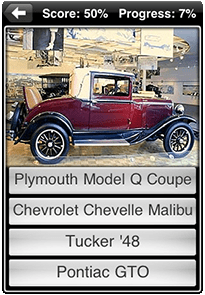 classic cars app screenshot