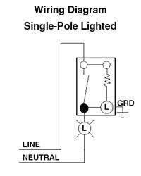 Single Pole Switch Wiring Diagram : single, switch, wiring, diagram, 5611-2W