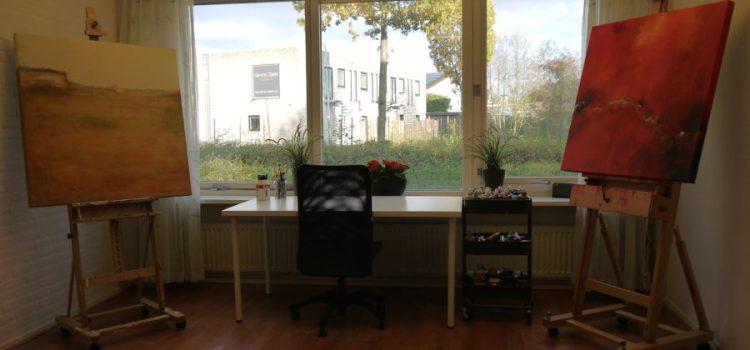 Nieuw atelier in Leusden!