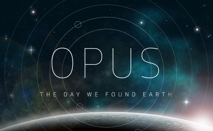 OPUS The Day We Found Earth Background