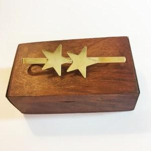 Tie clip two stars - Le Voilà
