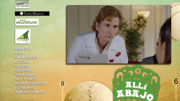 Complementos para María León en Allí Abajo - Le Voilà