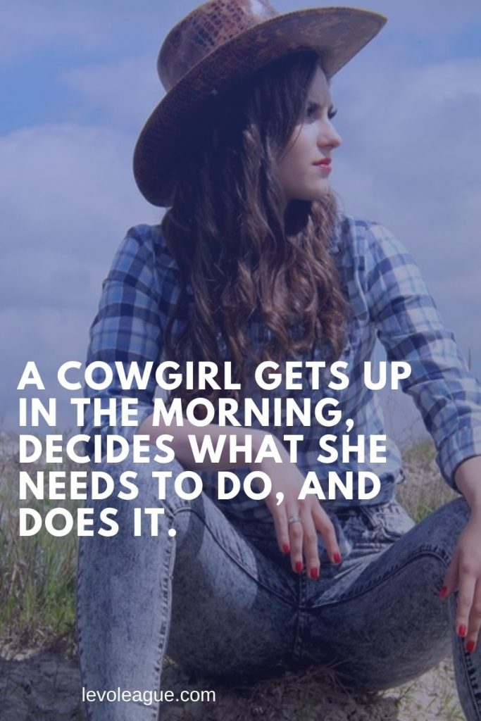 Cowgirl Captions : cowgirl, captions, Short, Cowgirl, Quotes, Sayings, League