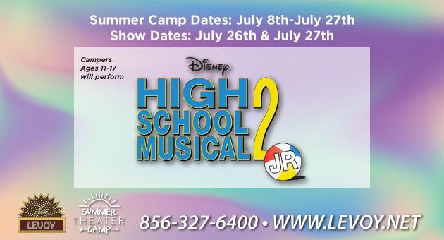 Summer Camp Disney's HIgh School Musical 2, Jr.