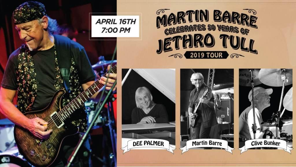 Martin Barre Celebrates Jethro Tull