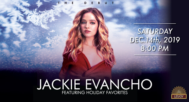 Jackie Evancho at The Levoy Theatre in Millville on 2019-12