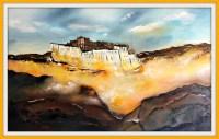 tenzin tseme tableau le potala tibet