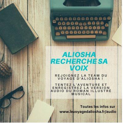 le voyage d'aliosha recherche voix pour audio