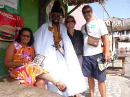 Chez Arminda avec Oumar et Arminda