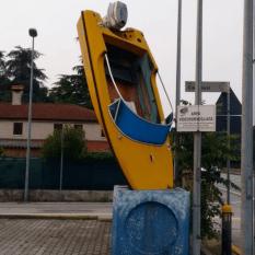 Unusual parking spot.