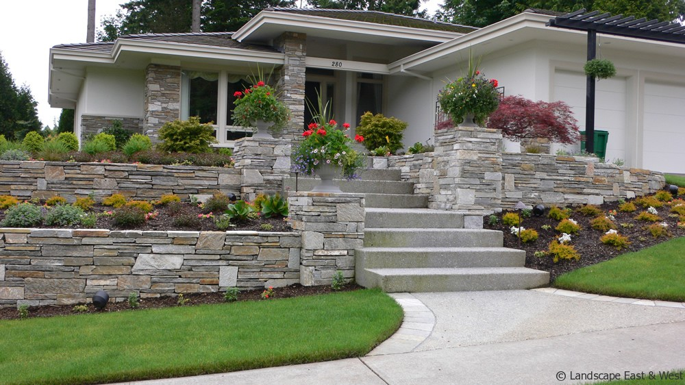 10 Custom Retaining Wall Designs For Portland Landscaping