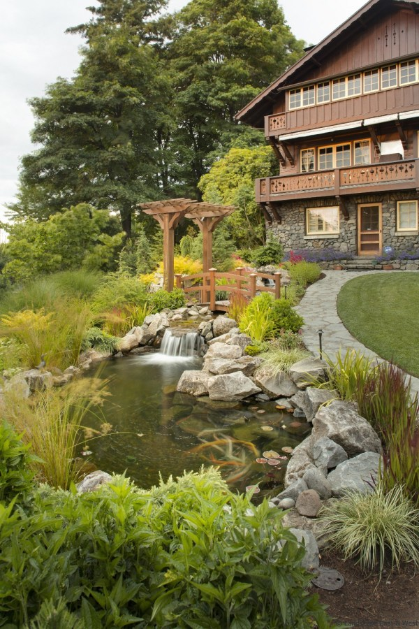water features portland landscaping
