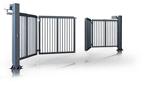INDUSTRIAL FOLDING GATES | Lewandowski