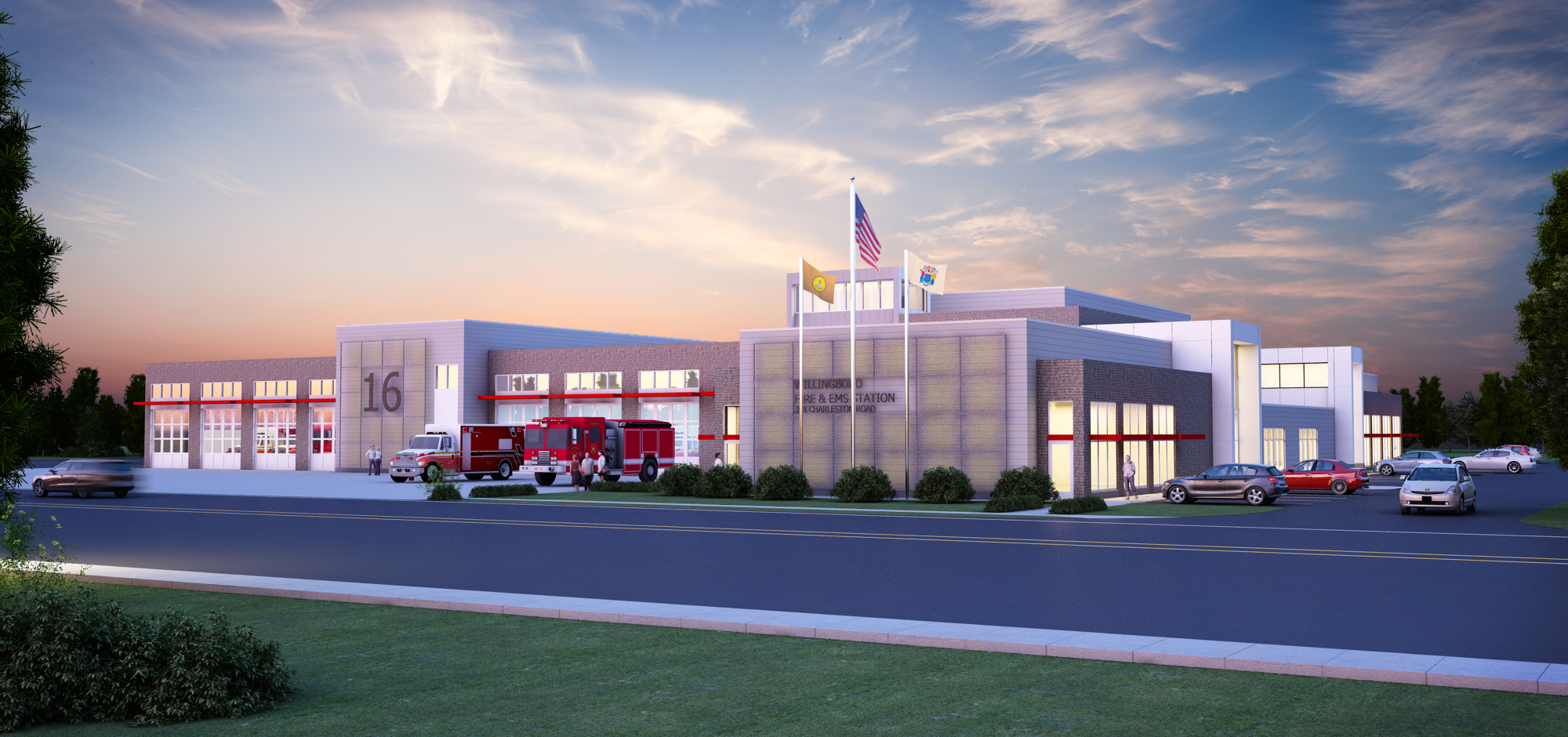 Willingboro Fire and EMS Headquarters Building  LeMay