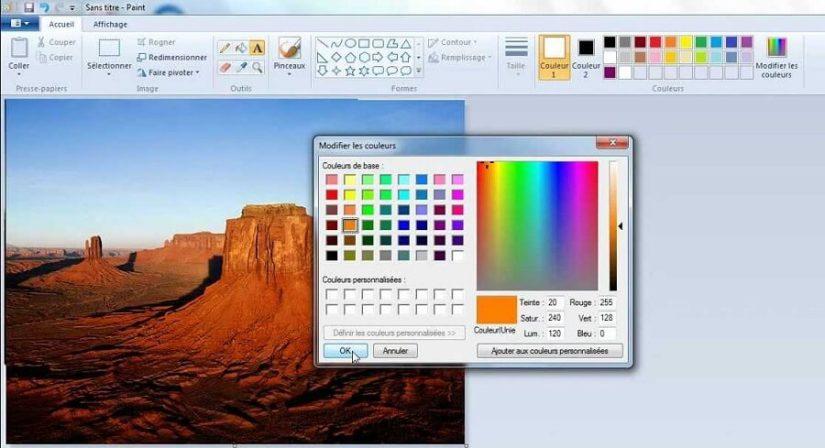 logiciels pour blogueurs - Paint