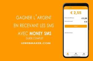 Comment gagner l'argent en recevant les messages avec Money SMS ?