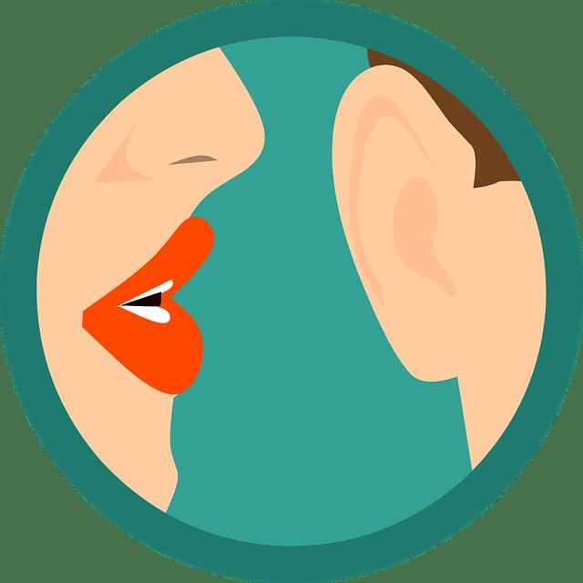 bouche à orreil - secret- chuchotter