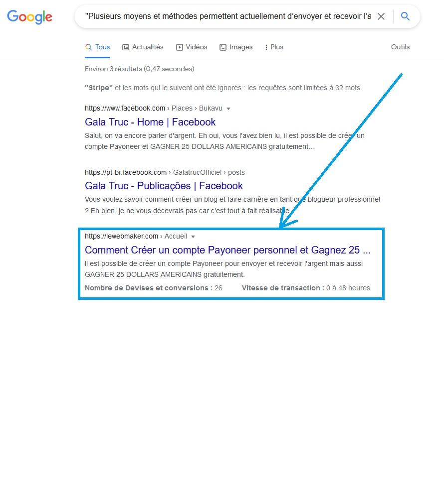 Comment Savoir que votre Contenu est Dupliqué sur Google?