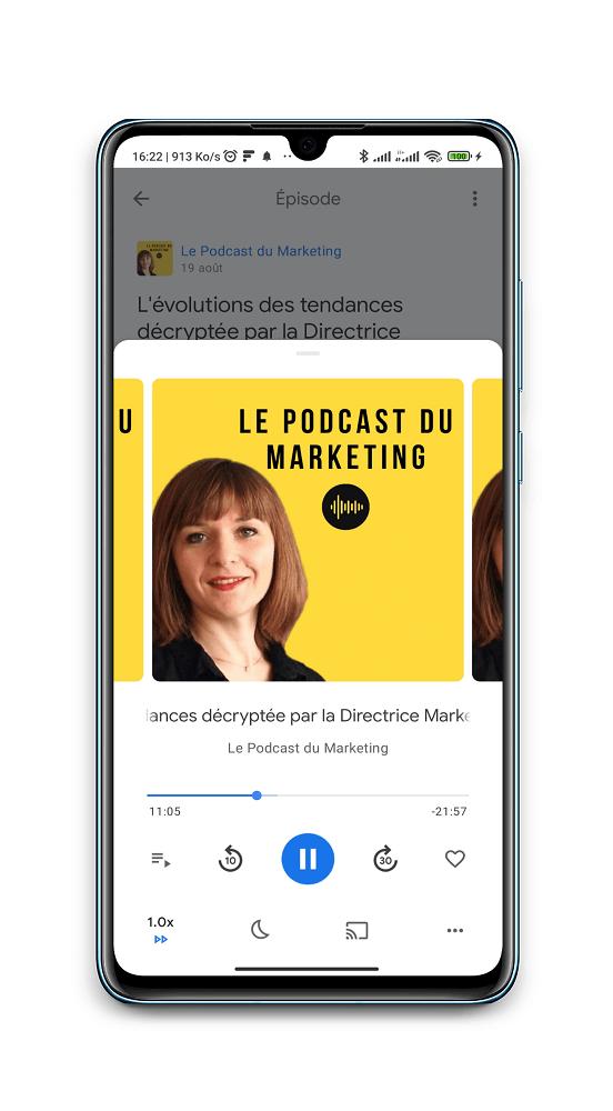 Podcast du Marketing - Meilleurs podcasts français pour entrepreneurs web
