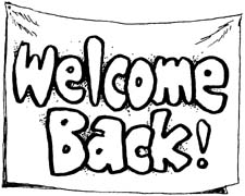 English on line » Welcome back