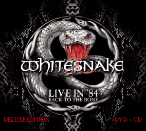 WHITESNAKE - LIVE IN 1984 - BACK TO THE BONE - 7 NOV FRONTIERS MUSIC