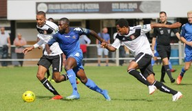Michael Dome-Bemwin breaks free at Molesey